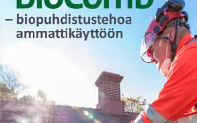 BioComb- biopuhdistustehoa ammattikäyttöön